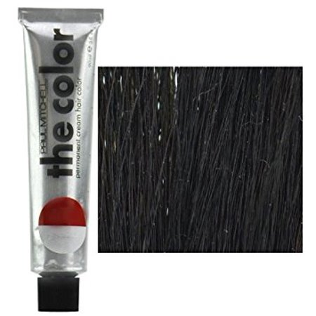 Paul Mitchell Hair Color The Color - Color :  2N - Darkest Natural (Black Brown 2n Kit)