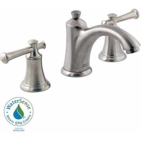 American Standard 7415.801.002 Portsmouth Widespread Lavatory Faucet with Metal Lever Handles and Metal Speed Connect Pop-Up Drain, Available in Various Colors