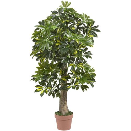 Real Touch 4' Schefflera Silk Tree by Generic