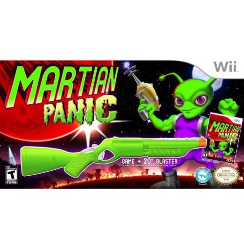 Martian Panic with Blaster (Wii)