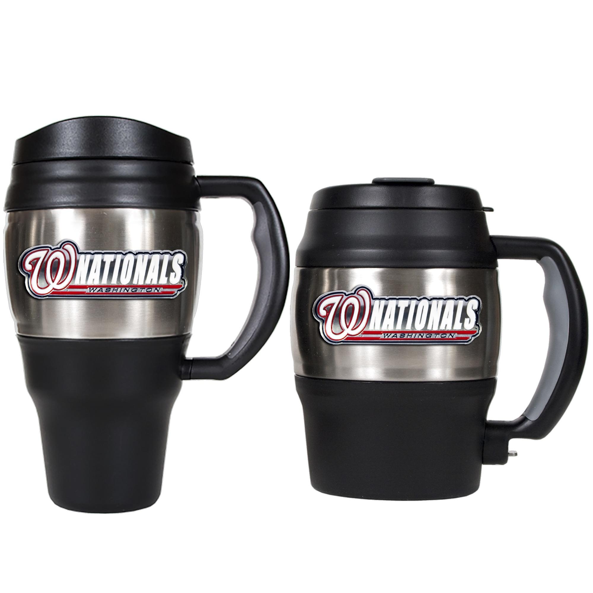 Washington Nationals 2-Piece Insulated Travel Mug Set - No Size