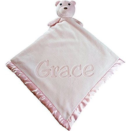 Large ultra plush personalized teddy bear baby blanket gifts large ultra plush personalized teddy bear baby blanket gifts 40x40 inch boy or girl negle Images
