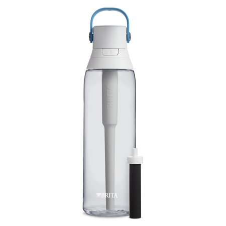 Brita 26 Ounce Premium Filtering Water Bottle with Filter BPA Free Clear (Brita Water Pitcher Smart)