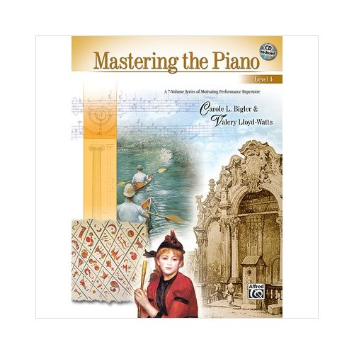 Alfred 00-22503 Mastering the Piano- Level 4 - Music Book