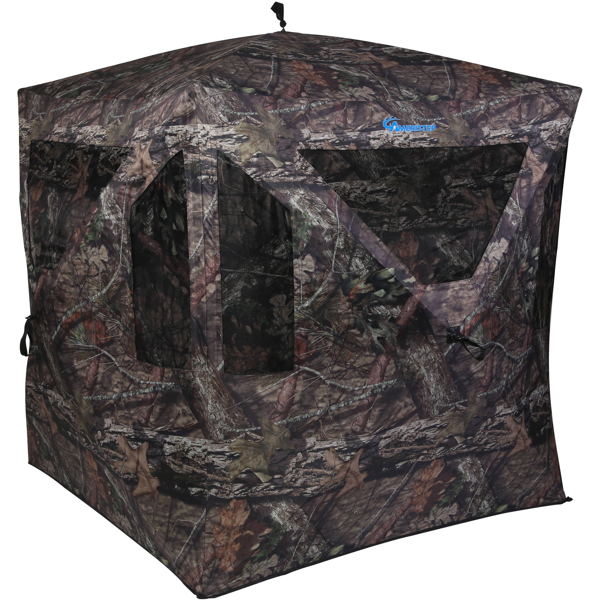 bow at luckyshuntingblinds ground blind blinds linda for hunting luckys