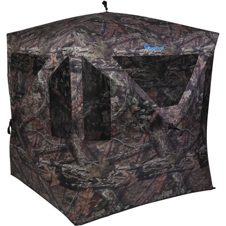 Ameristep Dominator Hunting Blind, Mossy Oak Camouflage Ameristep Steel Hunting Blinds