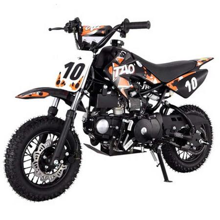 Kids Dirt Bike by FamilyGoKarts Orange DB10 Kids Motocross Dirt