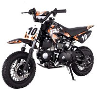 Kids Dirt Bike by FamilyGoKarts Orange DB10 Kids Motocross Dirt Bike