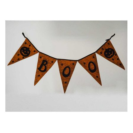 Craft Outlet Fabric Halloween Garland - Quick Halloween Crafts