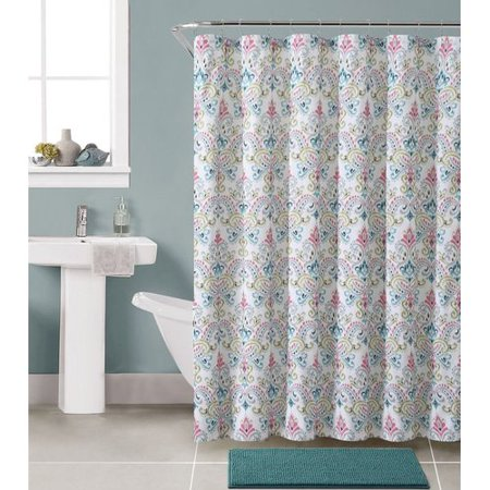 Bungalow Rose Gallager Shower Curtain Set