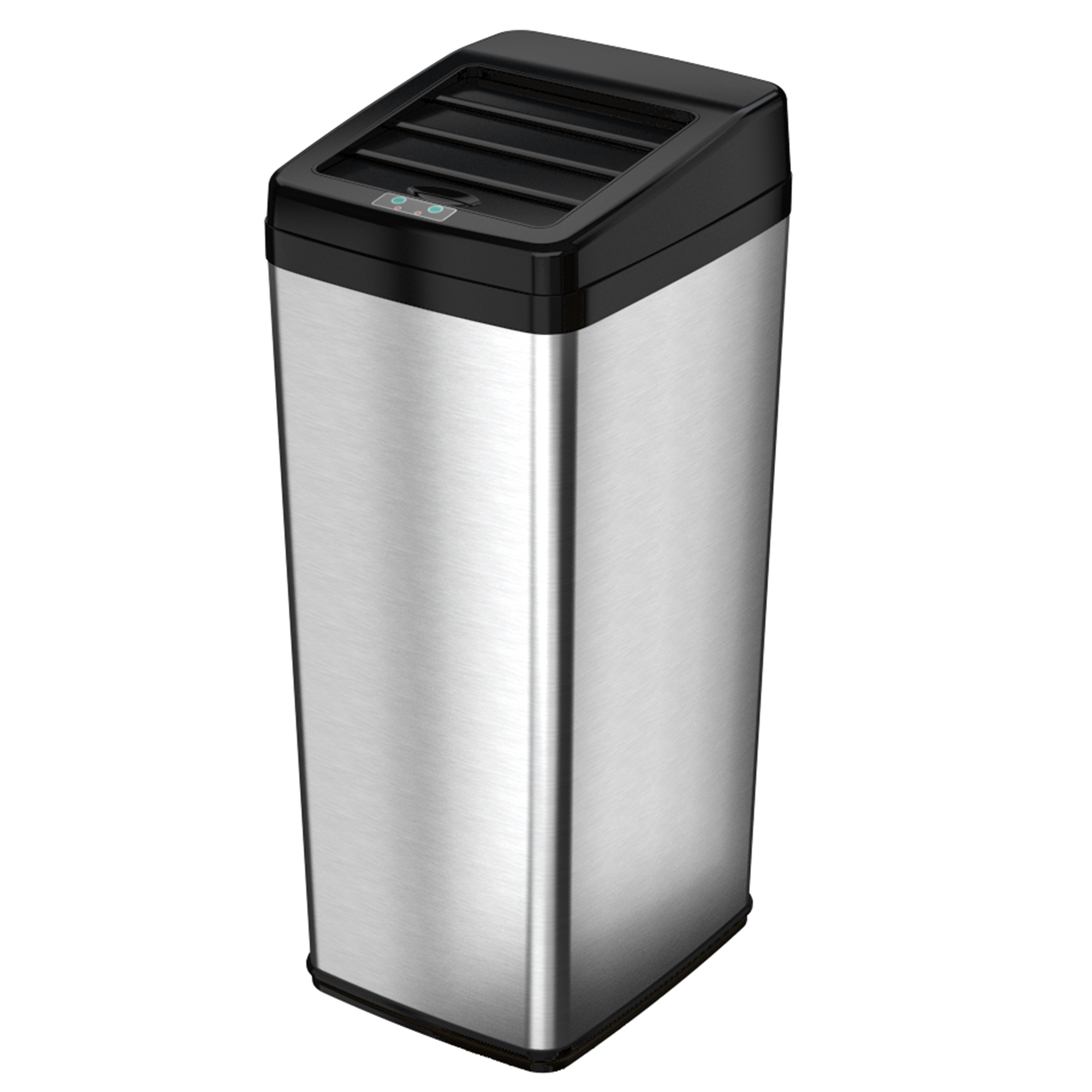 iTouchless 14 Gallon Stainless Steel Rectangular Sensor Trash Can with Retracting Lid by iTouchless