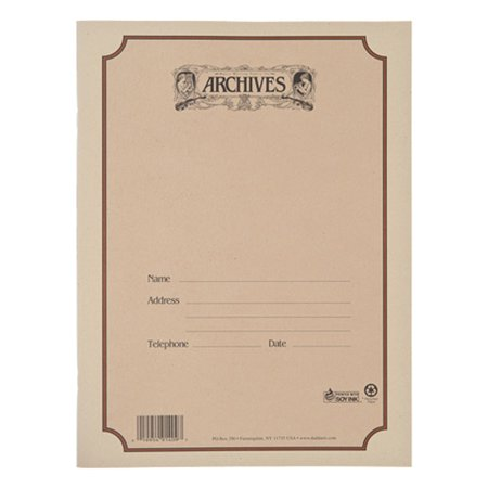 Archives 48 spiral bound blank staff paper with 12 stave per page
