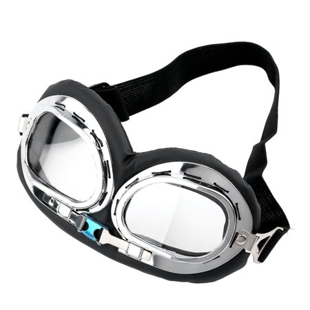 Hot Anti-UV Safety Motorcycle Scooter Pilot Goggles Helmet Glasses Motocross - image 4 of 9