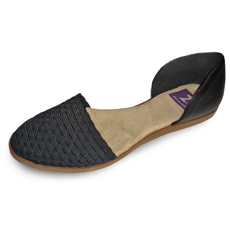 Zee Alexis Womens Gordie Shoes Black 8 M