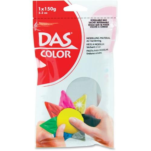 Das Colored Air Dry Clay 5.3 Ounces-Silver