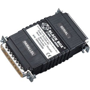 Black Box Async RS-232 to Parallel Converter - DB25 to DB25, Interface-Powered