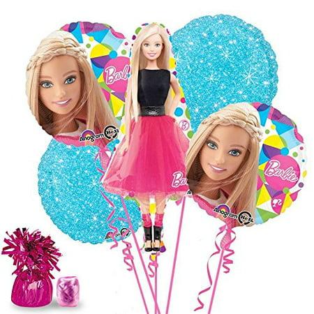 Barbie Party Supplies Balloon Kit](Barbie Balloons)