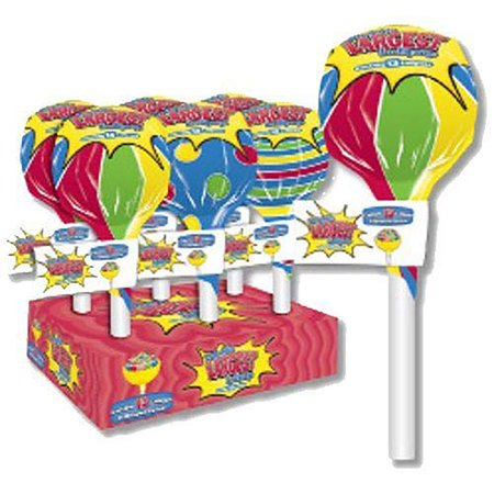 World's Largest Lollipop with 13 Different Flavors. Funny Gag Gift for Birthdays Suck. Great for Office Gifting, Party Favors, Teacher Appreciation, Back to School, any Event or Special Occasion.