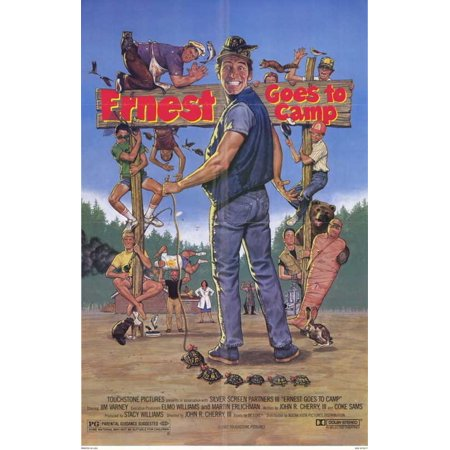 Ernest Goes to Camp POSTER Movie Mini - Ernest Halloween