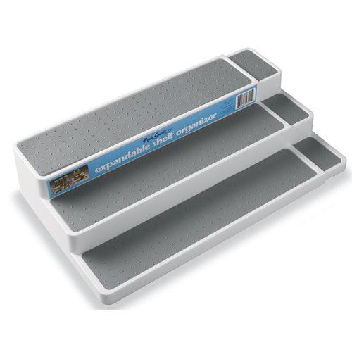 Madesmart Expandable Kitchen Cabinet Pantry Spice Rack Shelf Storage Organizer by Madesmart Housewares