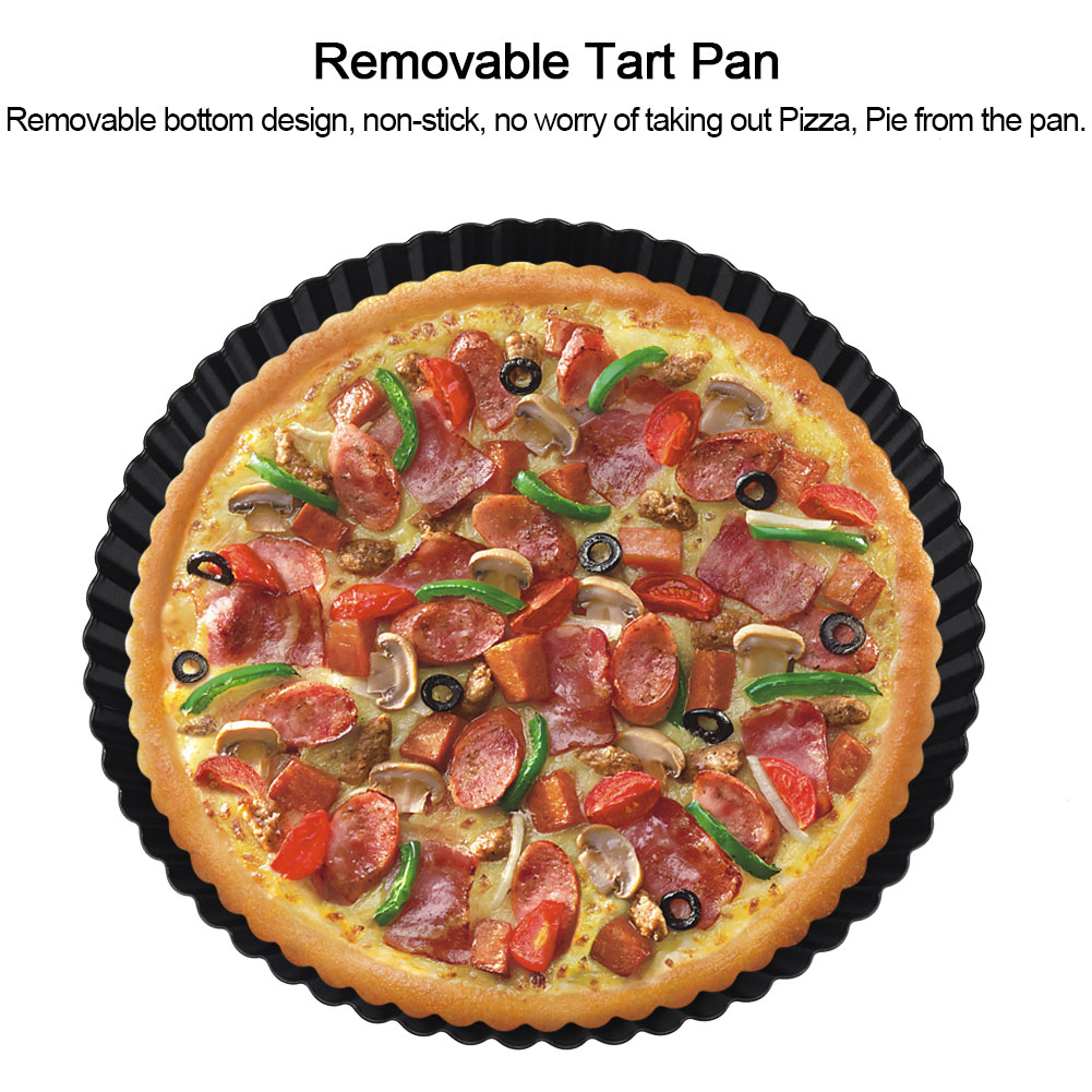 Have removed Removable bottom tart pans commit error