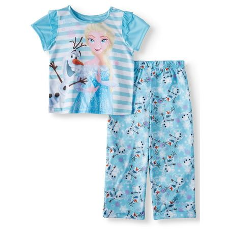 c4c0c75d5e2b Frozen - Toddler Girls  Frozen Short Sleeve Top and Pants