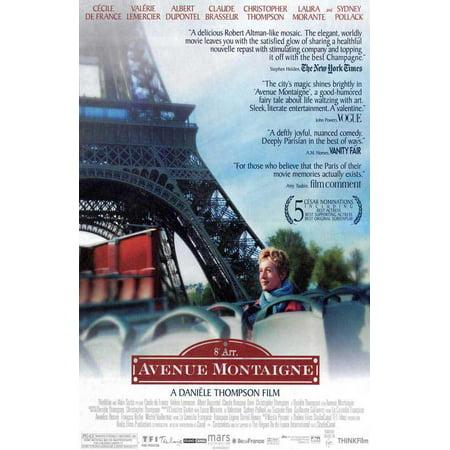 Avenue Montaigne - movie POSTER (Style B) (11