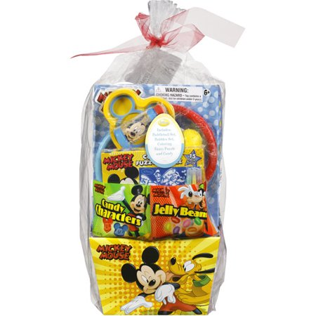frankford disney mickey mouse easter basket variety pack 16 oz