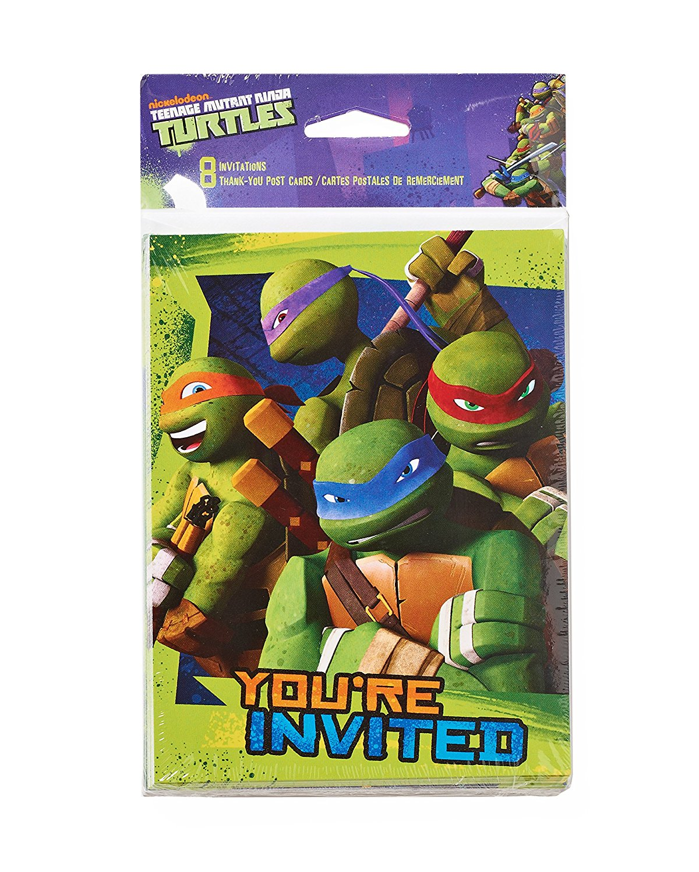 Teenage Mutant Ninja Turtles Party Supplies Walmart