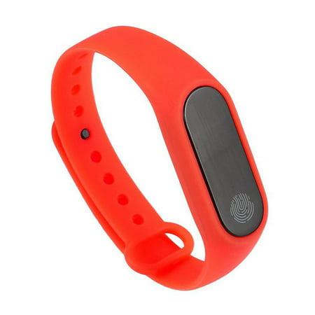 M2 Smart Bracelet Touch Screen Bracelet Heart Rate Monitoring Sports Bracelet - image 2 de 9