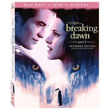 Breaking Dawn: Part 1 - Extended Edition Blu-ray + DVD +