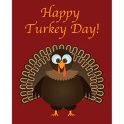 Secretly Designed Happy Turkey Day by Secretly Spoiled Graphic Art