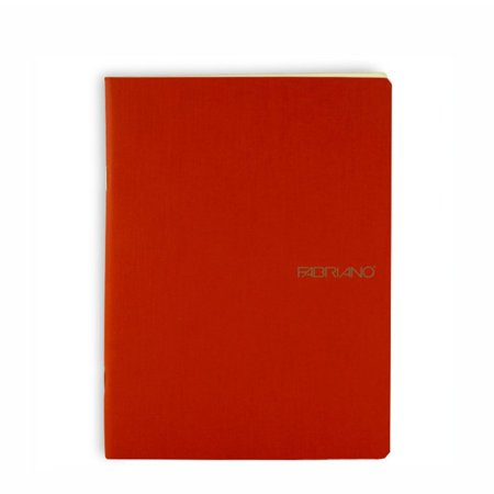 - Fabriano EcoQua Notebook, 5.83in x 8.27in, Blank, 38 Sheets, Raspberry