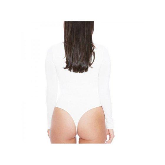0a11ab1f25d Ropalia - Ropalia Women Sexy Long Sleeves Solid Basic Slim Jumpsuits  Bodysuits - Walmart.com