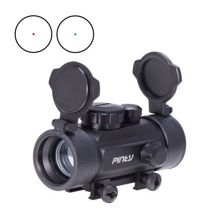 Pinty Holographic Reflex Laser Red Green Dot Sight Scope 30Mm For Rifle Picatinny Rail