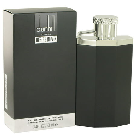 Alfred Dunhill Desire Black London Eau De Toilette Spray for Men 3.4 oz