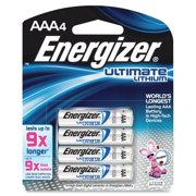 Energizer Lithium AAA Batteries