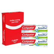 Colgate Sensitive Toothpaste, Lasting Fresh - 6 Ounce (3 Pack)