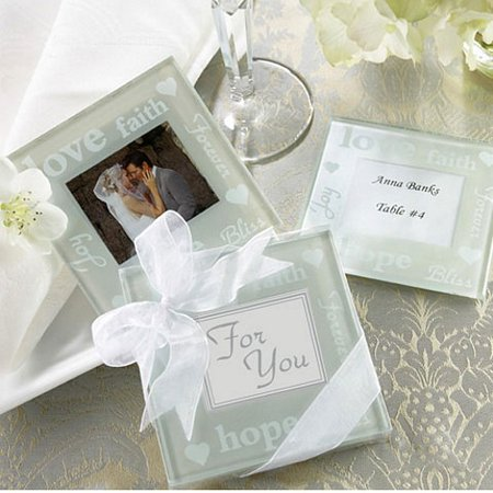 - Good Wishes Pearlized Photo Coaster (1)
