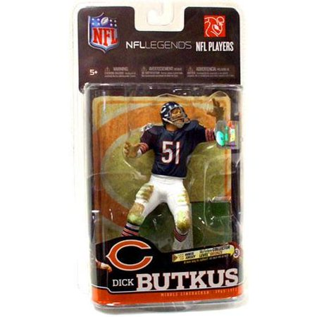 Dick Butkus Action Figure Blue Jersey Sports Picks Legends Series 6