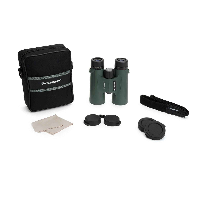 Celestron Outland X 10x42 Green Binoculars by Celestron