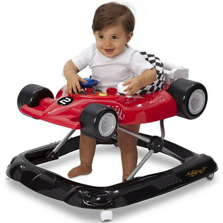 Delta Children Deluxe Lil' Drive Baby Activity Walker, Top Speed
