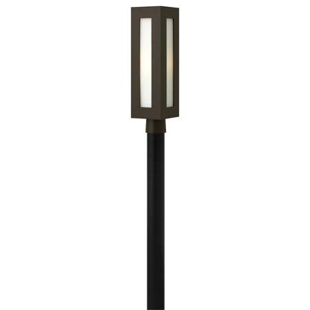 Hinkley Lighting 2191 1-Light Post Light from the Dorian Collection (Dorian Tool Post)