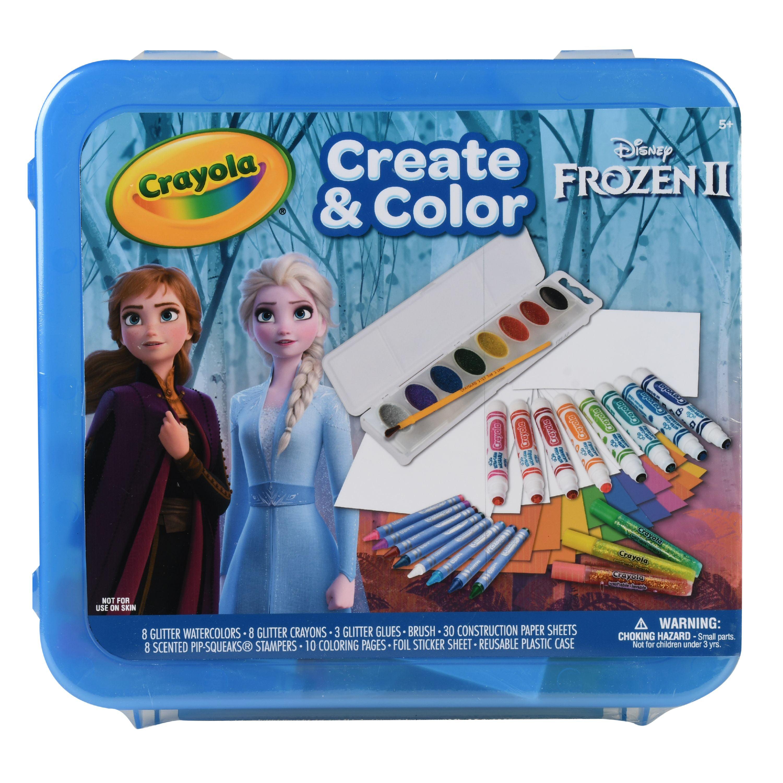 CRAYOLA Create Color CASE Frozen 2 One Size Multi