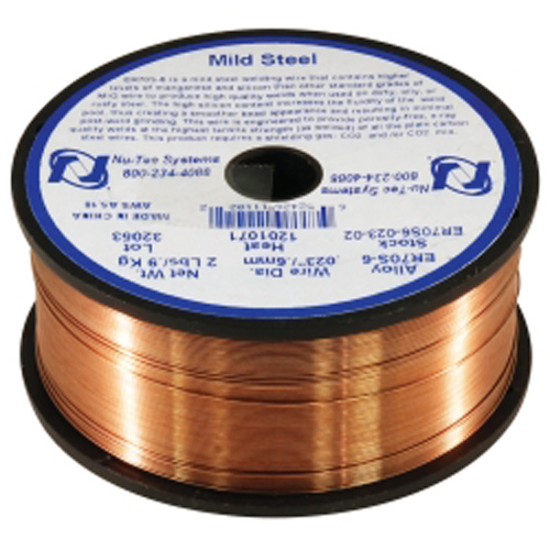 Mountain ER70S-6-023-02 .023in Steel ER70S-6 Welding Wire 2 lb 4in Spool