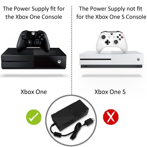 XBOX One Power Supply Cord Brick AC Power Adapter for Xbox