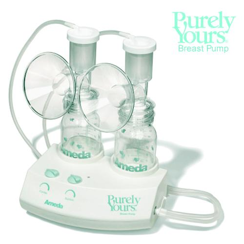 Purely Yours Breast Pump with 2 Bottles Dual Kit Part No. 17070PMW Qty 1