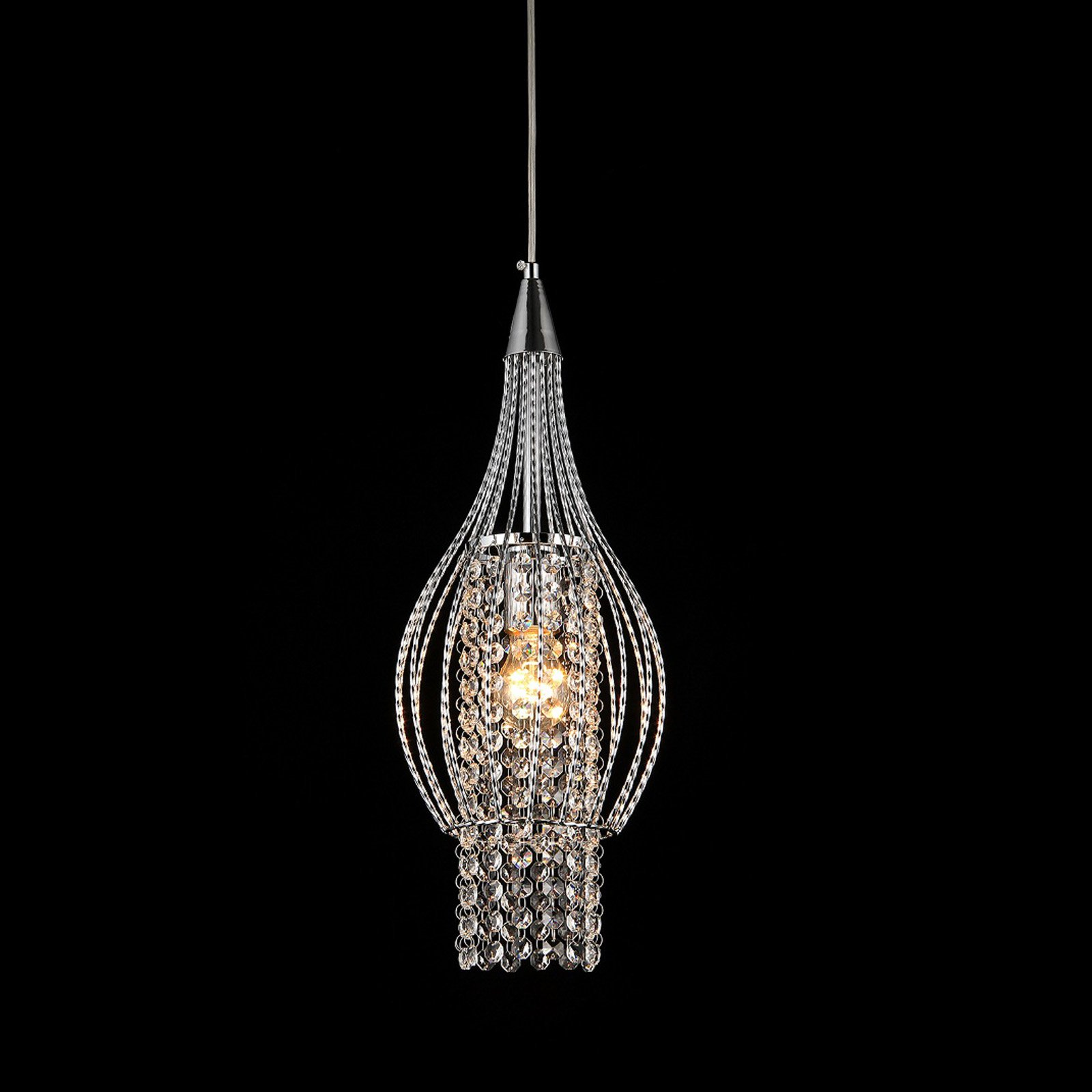 Warehouse of Tiffany Xyza 1 Light Crystal Chandelier by Supplier Generic