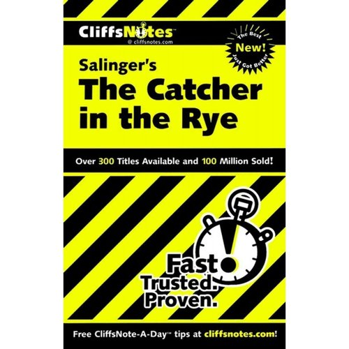 Cliffsnotes Salinger's the Catcher in the Rye