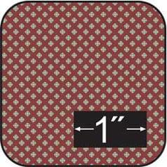 Dollhouse Cotton Fabric: St. George (George Fabric)